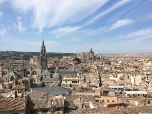 Toledo desde la Biblioteca