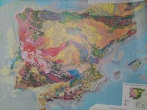 mapa geologico españa y portugal 1 1.000.000